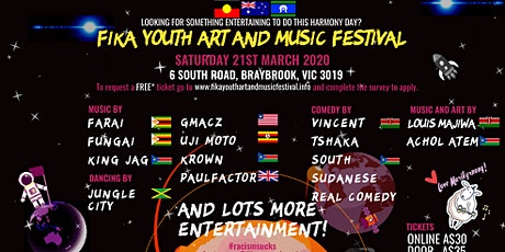 FIKA Youth Art And Music Festival tickets