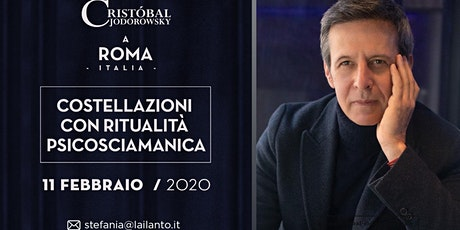 """Cristobal Jodorowsky """"Costellazioni psicosciamaniche"""" Roma biglietti"""