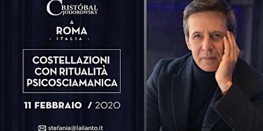 """Cristobal Jodorowsky """"Costellazioni psicosciamaniche"""" Roma"""