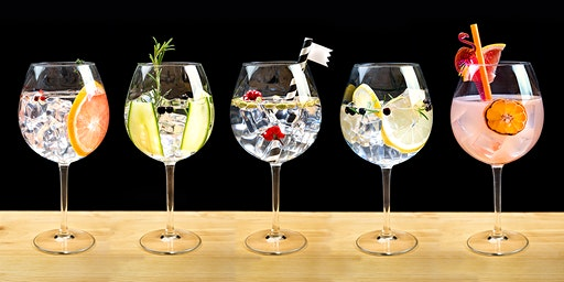 An evening of Gin tasting with expert Angela Metcalfe