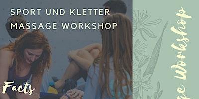 Sport und Kletter Massage Workshop