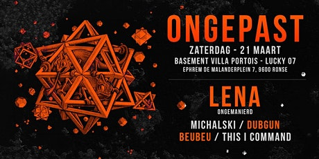 Ongepast: Into the Basement Invite's LeNa tickets