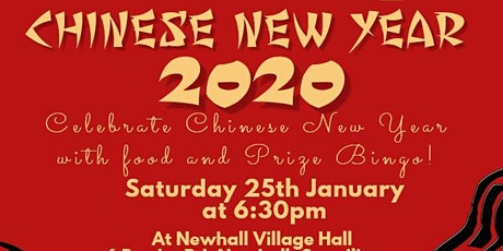 Chinese New Year & Prize Bingo tickets