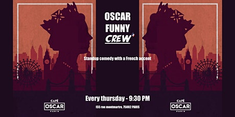 Standup comedy with a french accent billets