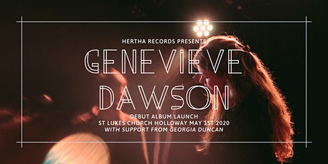 Genevieve Dawson Album Launch - Letters I Won't Send tickets