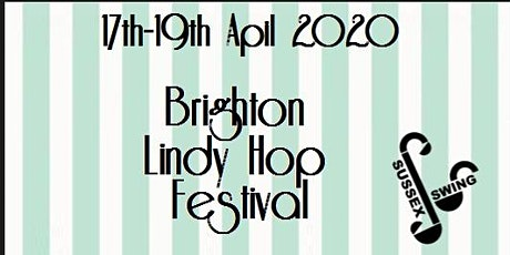 Brighton Lindy Hop Festival 2020 tickets