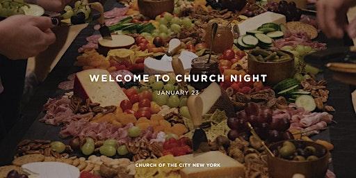 Welcome to Church Night