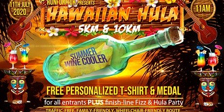 Hawaiian Hula Summer Wine Cooler 5km & 10km tickets