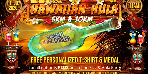 Hawaiian Hula Summer Wine Cooler 5km & 10km