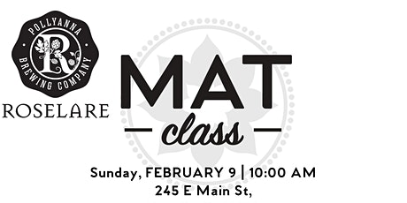 Club Pilates Bloomingdale Mat Class at Pollyanna Brewing Company-Roselare tickets