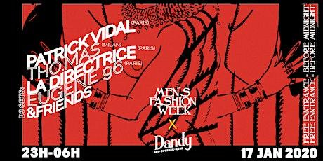 "SIZE 7"" x Men's Fashion Week tickets"