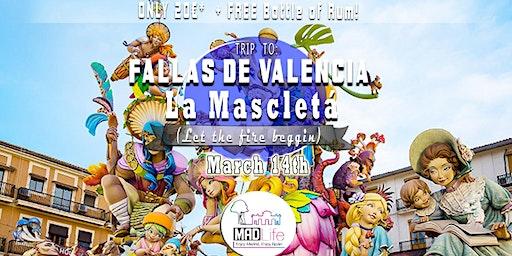 Trip to Fallas de Valencia 2020 La Mascletá ✺