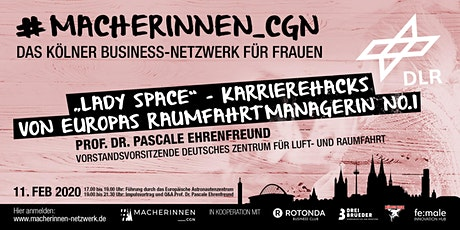 2. #MACHERINNEN_CGN-MEETUP Tickets
