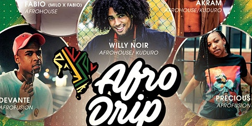 AfroDrip Workshops | 5 Hours AfroDance Workshops + Battles AMSTERDAM
