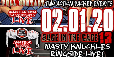 FULL CONTACT PROMOTIONS PRESENTS: RAGE IN THE CAGE 13 tickets