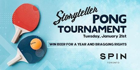 Storyteller Pong Tournament tickets