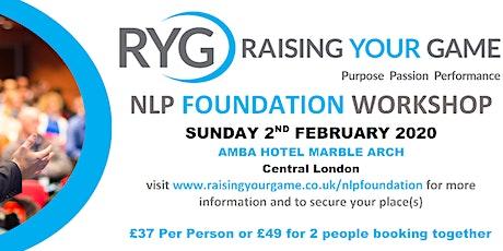 NLP Foundation Workshop tickets