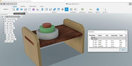Fusion 360 and the Makerspace tickets