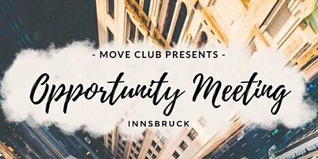 Opportunity Meeting Innsbruck Tickets