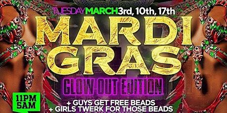 MARDI GRAS - The Biggest Beads Party in Miami tickets
