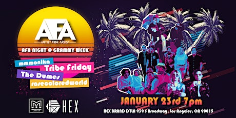 AFA Night @ GRAMMY Week tickets