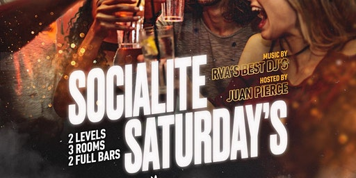 SOCIALITE SATURDAYS AT VAGABOND | FREE ALL NIGHT