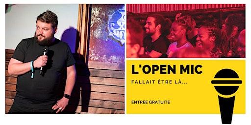 L'Open Mic de Lausanne  -24 janvier