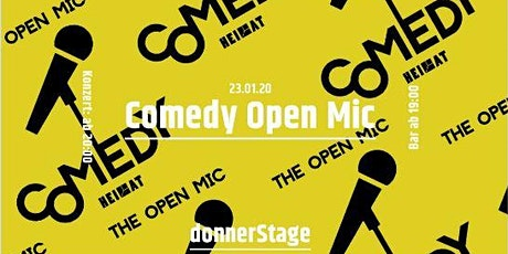 The Open Mic - 23rd January tickets