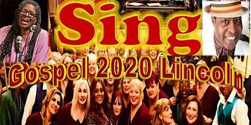 Gospel 2020 Lincoln - 25 APRIL Helen Garnett & G Choir - concession