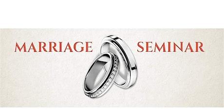 Marriage Seminar tickets