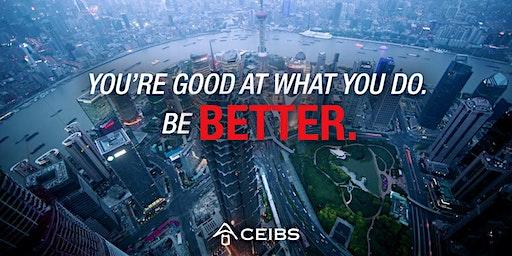 CEIBS MBA Exclusive Lecture – Beijing