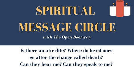 Spiritual Message Circle tickets