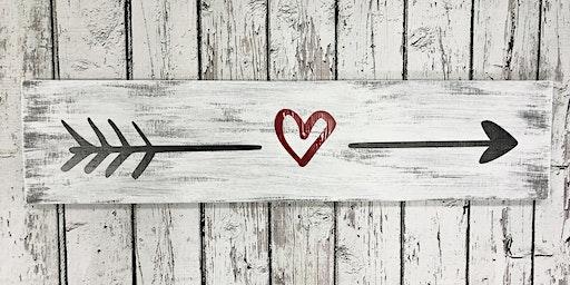 Ladies Night - Valentines Day Wooden Sign