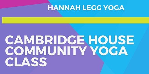 Cambridge House Community Yoga