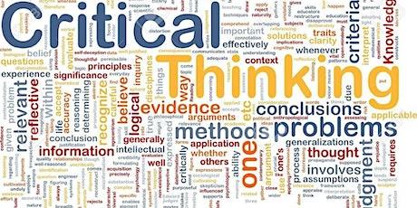Rencontre du Critical Thinking Club #3 billets