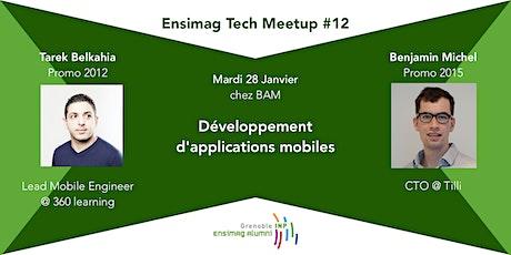 Ensimag Tech Meetup #12 : Dev mobile tickets