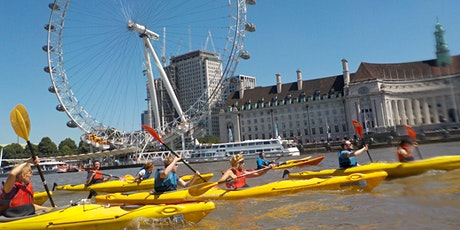 ** Kayak Bus  (Battersea to Greenwich). tickets