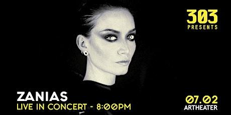 Zanias Live im Artheater Tickets