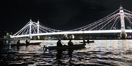 ** Night Bus ( Kayaking Battersea to Greenwich by night). tickets