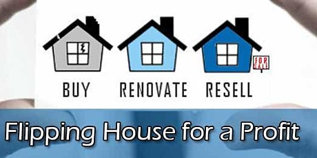 Learn to Flip Houses or Manage rentals- Manteca CA tickets