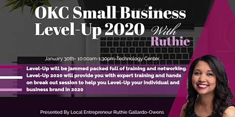 OKC Small Business Level-Up 2020 tickets