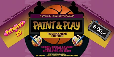 Paint & Play (Tournament Edition) tickets