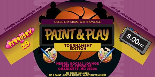 Paint & Play (Tournament Edition)