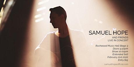 Samuel Hope & Friends tickets