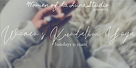 Women's Kundalini Yoga & Meditation class tickets