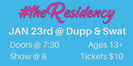 #theResidency tickets