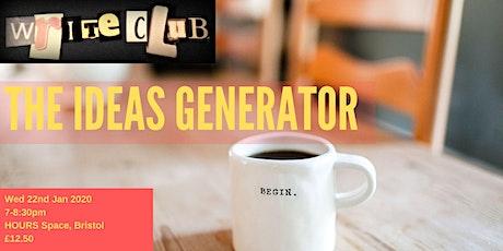 WriteClub - The Ideas Generator tickets