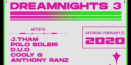 Dreamnights: 3 tickets