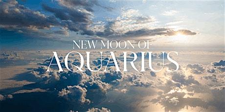 New Moon Aquarius live online tickets
