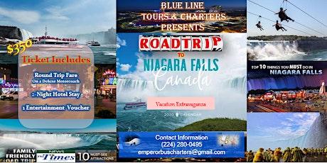 Road Trip & Vacation to Niagara Falls tickets
